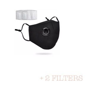 Accessories - Washable Black Face Cover and 2 Filters